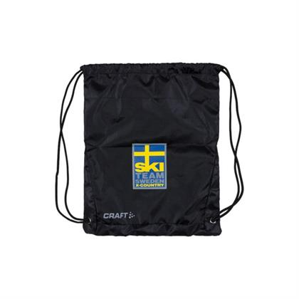 Ski Team Gym Bag, Čierna